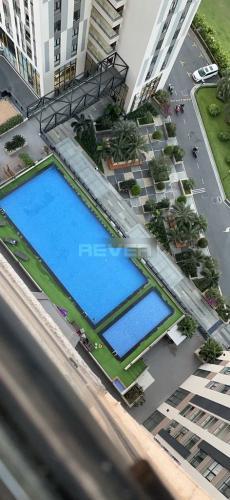 Hồ bơi Cetana Thủ Thiêm, Quận 2 Căn hộ Cetana Thủ Thiêm tầng trung, đón view thành phố.