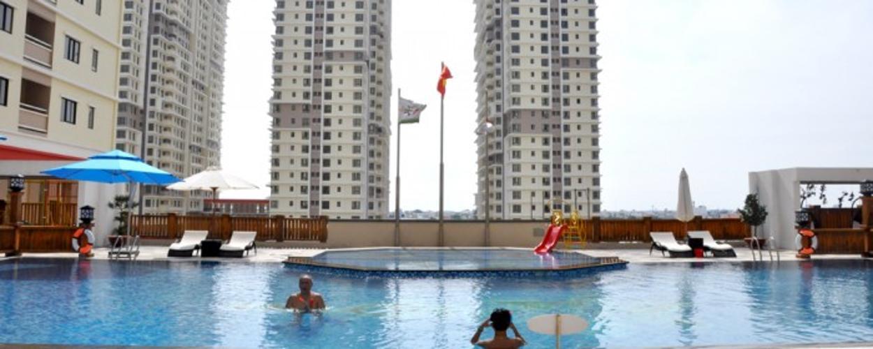 Hồ bơi Era Town, Quận 7 Căn hộ Era Town đầy đủ nội thất, view thoáng mát.