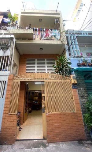Bán nhà phố đường Lý Thái Tổ phường 9 quận 10, diện tích đất 40m2, sổ hồng đầy đủ