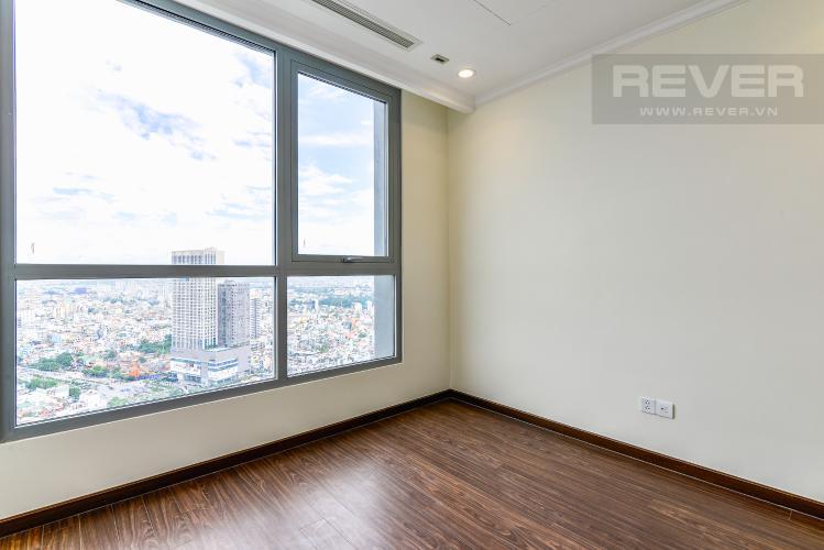 Phòng Ngủ 1 Căn hộ Vinhomes Central Park 3 phòng ngủ tầng cao L5 nội thất cơ bản