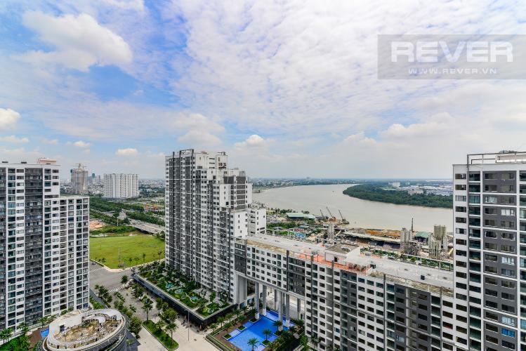 View Cho thuê căn hộ New City Thủ Thiêm tầng cao, 3PN đầy đủ nội thất, view sông