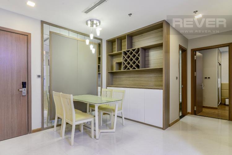 Phòng Ăn Căn hộ Vinhomes Central Park 2 phòng ngủ tầng trung P3 nội thất đầy đủ