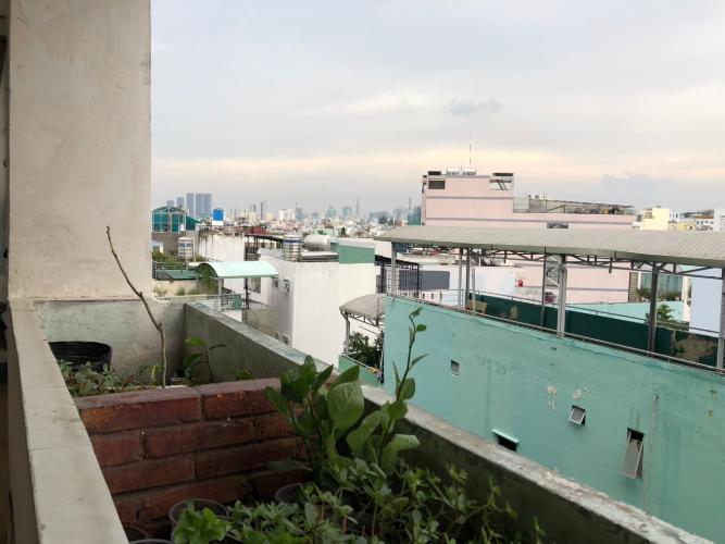 View căn hộ chung cư 346 Phan Văn Trị, Bình Thạnh Căn hộ Chung cư 346 Phan Văn Trị 2 phòng ngủ nội thất cơ bản, sàn gỗ.