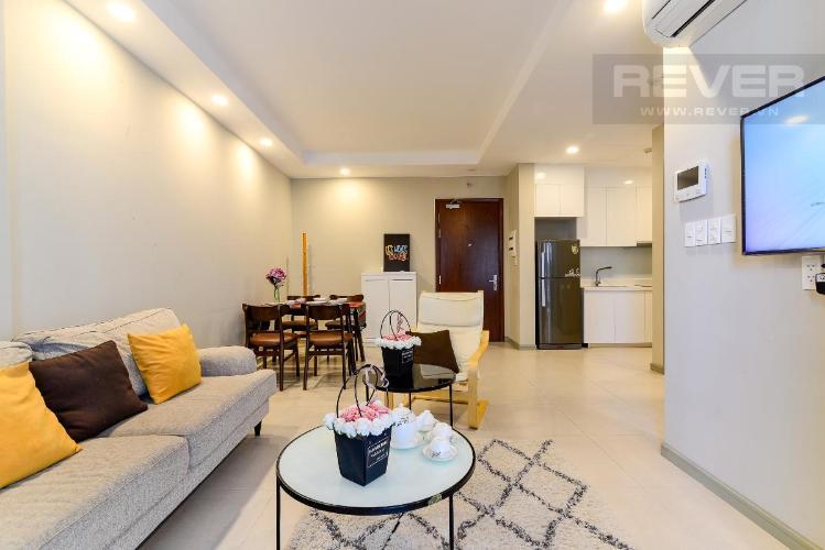 Bán căn hộ The Gold View 1 phòng ngủ, diện tích 50m2, đầy đủ nội thất, view hồ bơi, hướng Tây Nam