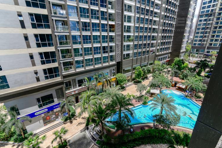 View Bán căn hộ Vinhomes Central Park 2PN, tháp Park 4, đầy đủ nội thất, view hồ bơi nội khu