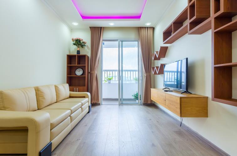 Phòng khách Căn hộ Lexington 2 phòng ngủ tầng cao LC view đẹp