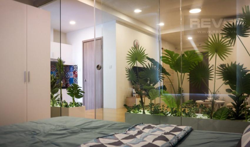 Phòng Ngủ Bán căn hộ Icon 56 1 phòng ngủ, tầng thấp, đầy đủ nội thất, view kênh Bến Nghé