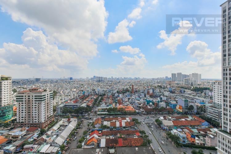Veiw Bán căn hộ Masteri Millennium tầng cao, block B, 3PN đầy đủ nội thất