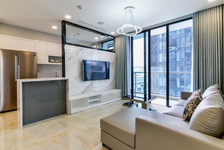 Căn hộ Vinhomes Golden River tầng thấp tòa Aqua4 tầng thấp 3 phòng ngủ view sông