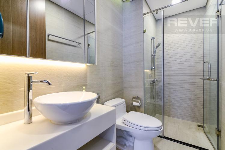 Phòng Tắm 1 Cho thuê căn hộ Vinhomes Central Park 2PN 2WC, đầy đủ nội thất, view sông
