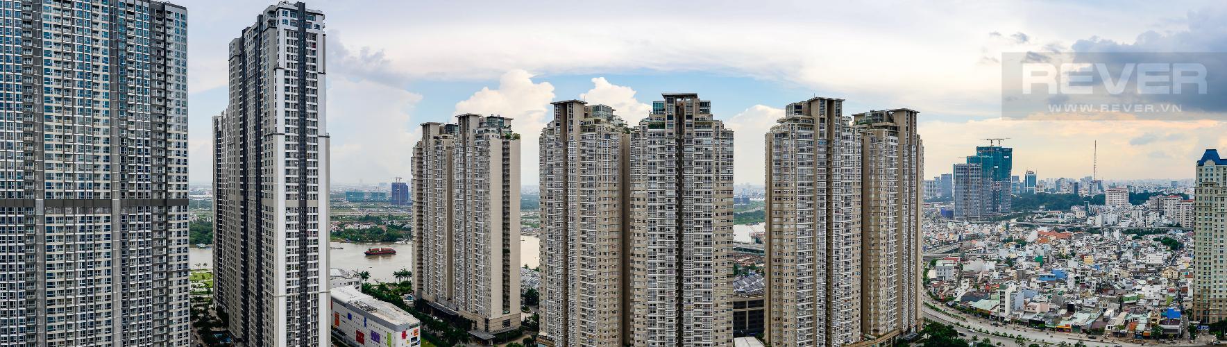 view Căn góc Vinhomes Central Park tầng cao Central 3 đầy đủ tiện nghi
