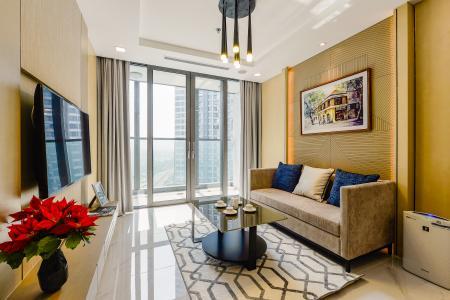 Căn hộ Vinhomes Central Park, tháp Landmark 81, 1PN đầy đủ nội thất