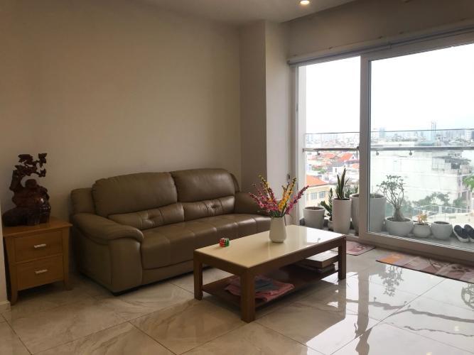 Phòng khách căn hộ Sun Village Apartment Căn hộ Sun Village Bình Thạnh nội thất đầy đủ view thoáng mát