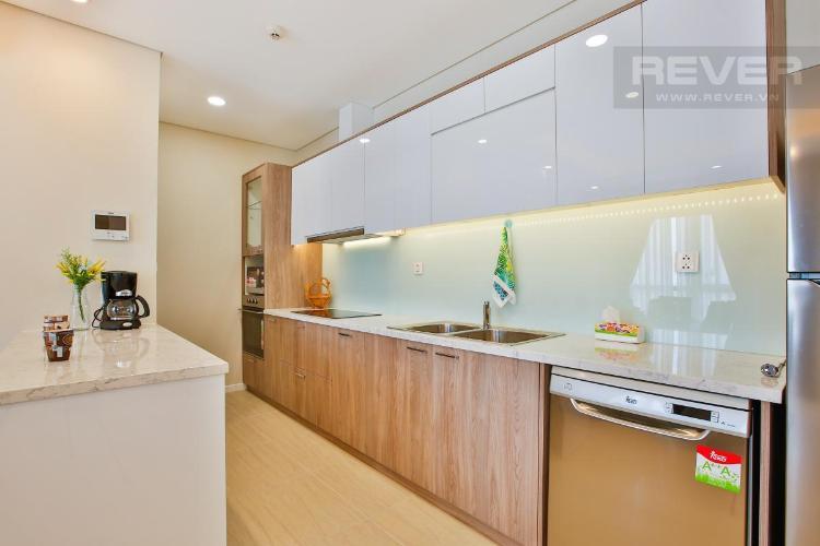Phòng bếp Diamond Island Quận 2 Căn hộ Đảo Kim Cương tầng trung, thiết kế hiện đại.