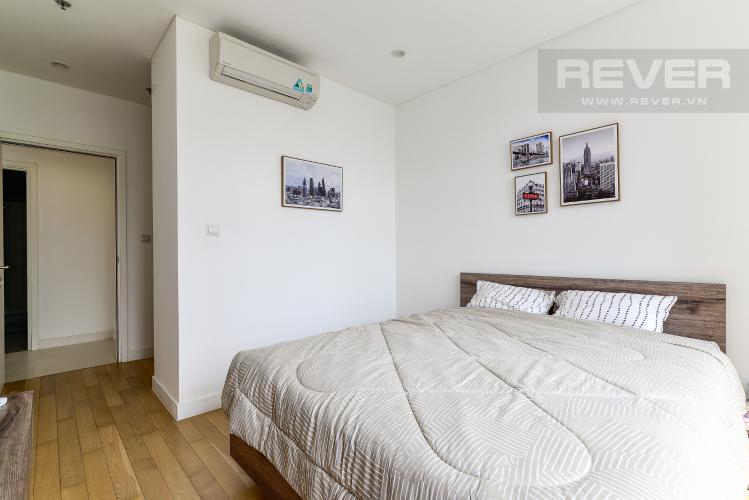 Phòng Ngủ 1 Cho thuê căn hộ City Garden view thành phố, 104m2 2PN 2WC, nội thất tiện nghi
