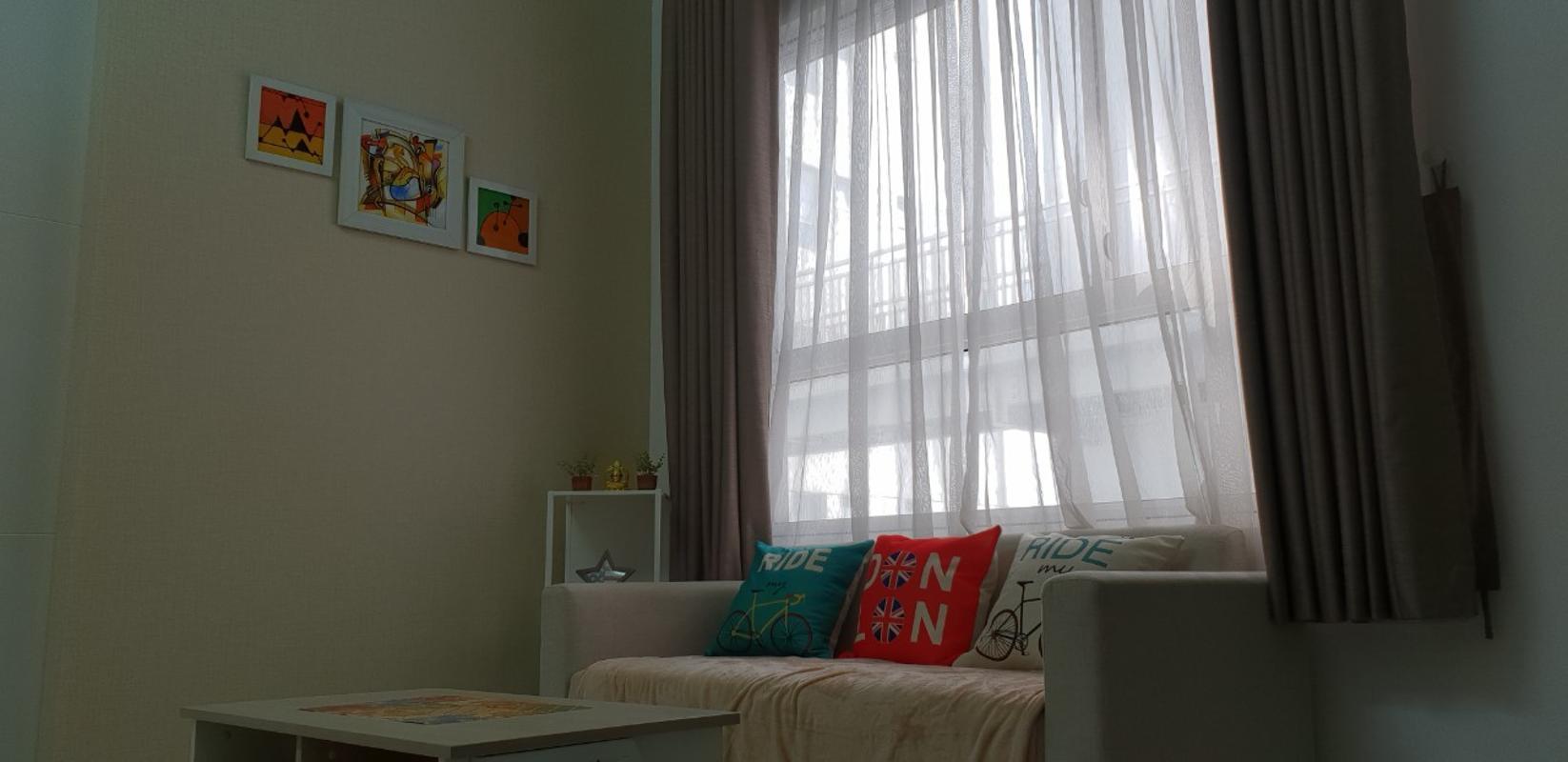 01 Cho thuê căn hộ Lexington Residence 1PN, diện tích 48m2, đầy đủ nội thất, view hồ bơi