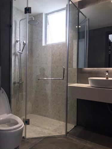 Nhà vệ sinh Sunrise Riverside Căn hộ Sunrise Riverside tầng thấp, đầy đủ nội thất hiện đại.