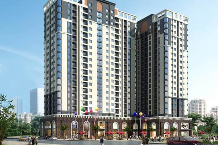 căn hộ Chung cư Âu Cơ Tower, Tân Phú Căn hộ tầng 19 Chung cư Âu Cơ Tower, nội thất đầy đủ
