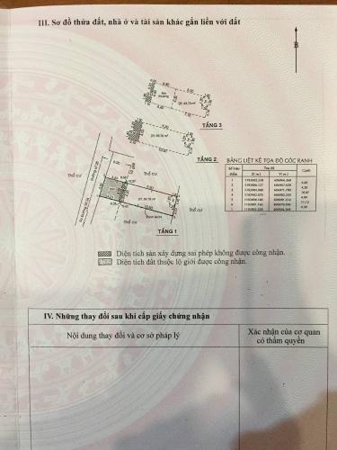 Bản vẻ nhà phố Quận 2 Nhà phố diện tích đất 61.3m2, hướng Đông Bắc, sổ hồng riêng