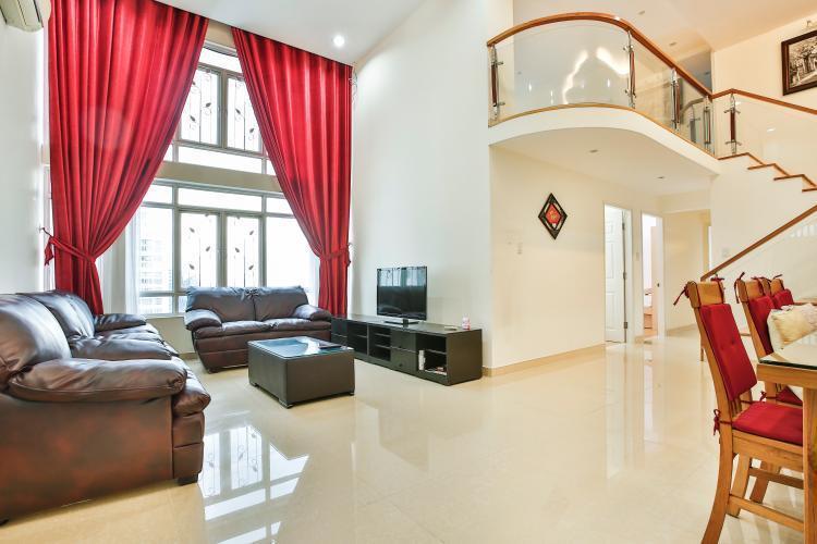 Bán căn hộ Phú Hoàng Anh tầng trung, 4 phòng ngủ, diện tích 230m2, nội thất cơ bản