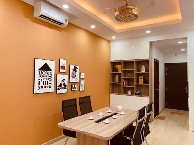 Cho thuê căn hộ Officetel tầng thấp, nội thất đầy đủ The Sun Avenue