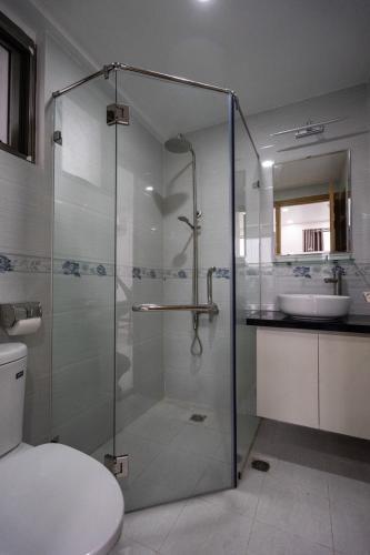 Phòng tắm căn hộ Saigon South Residence, Nhà Bè Căn hộ Saigon South Residence view thành phố thoáng mát, yên tĩnh.