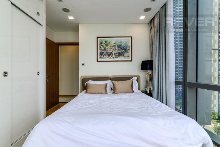 Phòng Ngủ 3 Căn hộ Vinhomes Central Park tháp Landmark 81, 4PN 2WC, nội thất đầy đủ
