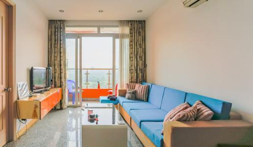 Căn hộ Dragon Hill Residence and Suites 2 phòng ngủ thiết kế đẹp