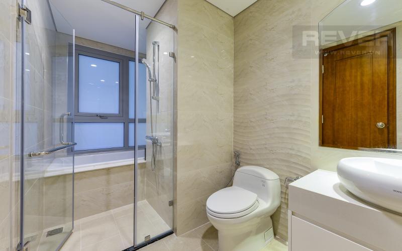 Phòng tắm 1 Căn hộ The Central Vinhomes Central Park tầng cao hướng Đông Nam tháp C2