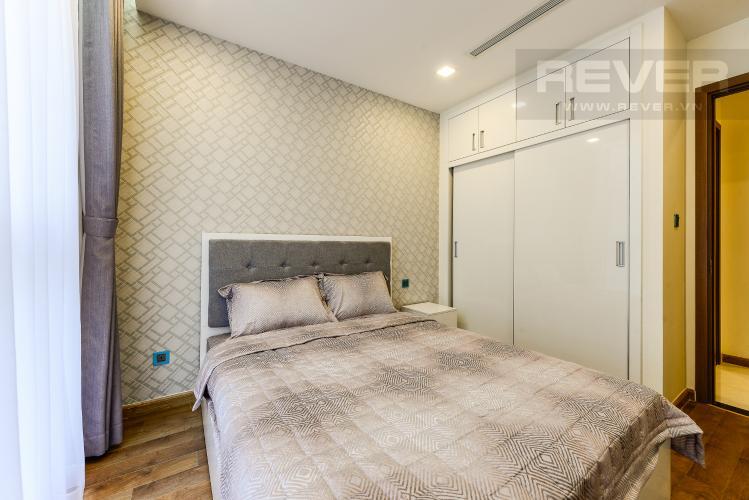 Phòng ngủ 2 Căn hộ Vinhomes Central Park tầng cao, Park 3, 3 phòng ngủ, view sông.