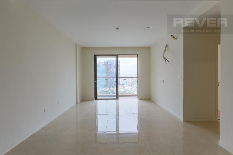 Phòng Khách Bán căn hộ Masteri Millennium tầng trung, 2PN, view hồ bơi và toàn cảnh thành phố