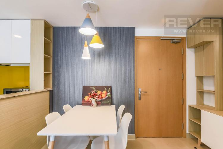 Khu vực bàn ăn Cho thuê căn hộ Masteri Thảo Điền 2PN, tầng cao, tháp T2A, đầy đủ nội thất, hướng Tây Bắc