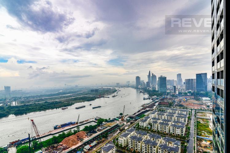 View Căn hộ Vinhomes Golden River 2 phòng ngủ tầng cao A2 view sông