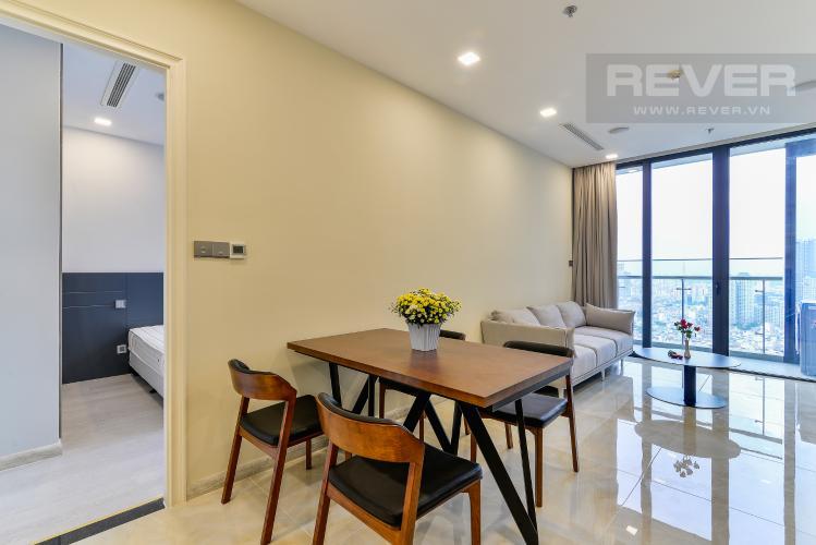 Phòng Ăn Căn hộ Vinhomes Golden River 1 phòng ngủ tầng cao A3 đầy đủ nội thất