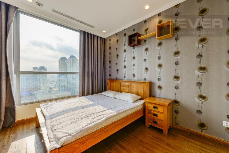 Phòng ngủ Officetel Vinhomes Central Park 1 phòng ngủ tầng trung C3 hướng Tây