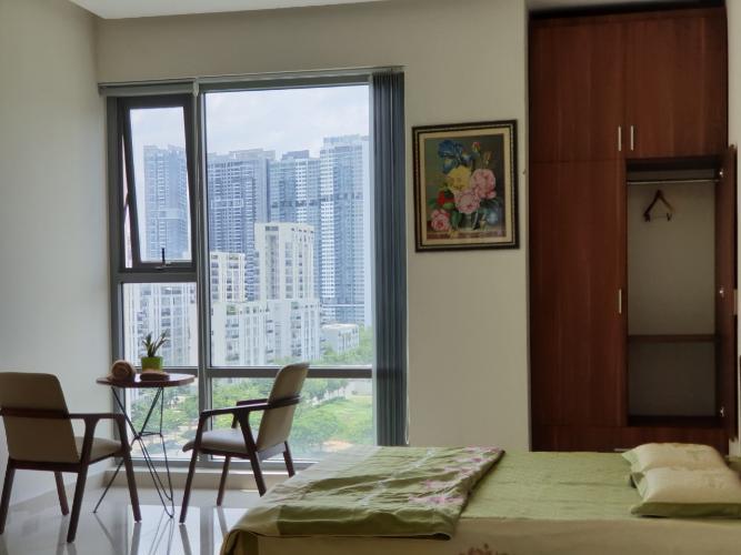 Phòng ngủ Golden King Quận 7 Căn hộ Office-tel Golden King tầng 9, view thành phố sầm uất.