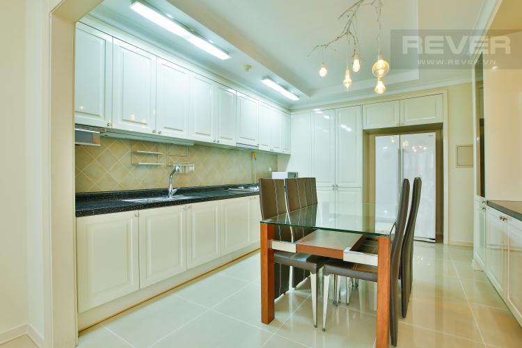 Bếp Căn hộ Imperia An Phú 3 phòng ngủ tầng thấp C1 nội thất hiện đại