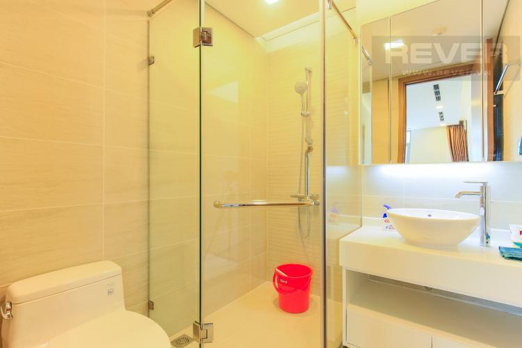 Phòng Tắm 2 Căn hộ Vinhomes Central Park tầng trung Park 6 view nội khu
