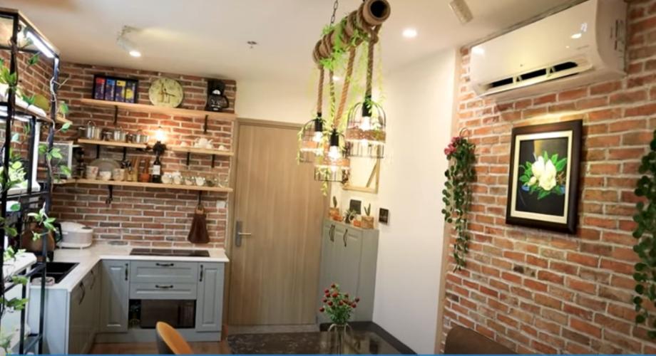 Phòng bếp Vinhomes Grand Park Quận 9 Căn hộ tầng trung Vinhomes Grand Park cùng đầy đủ nội thất.