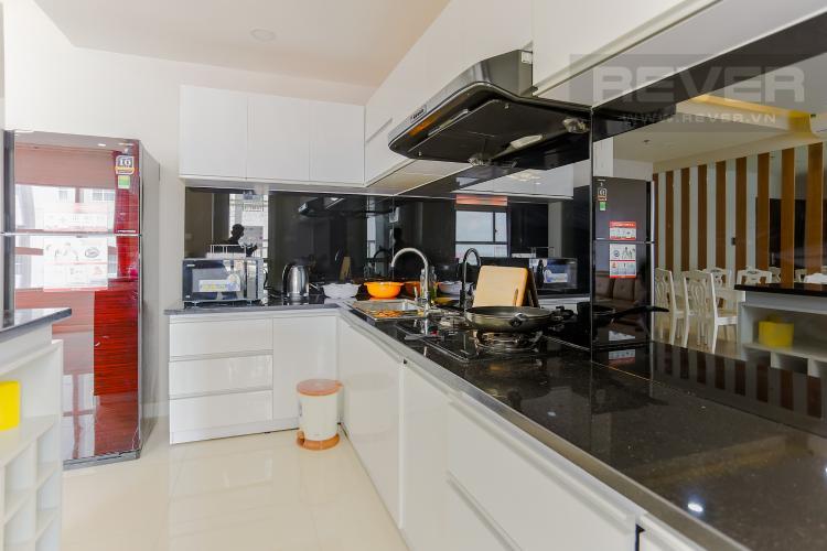 Phòng Bếp Căn hộ Sunrise City tầng thấp W3 thiết kế 2 phòng ngủ thông thoáng