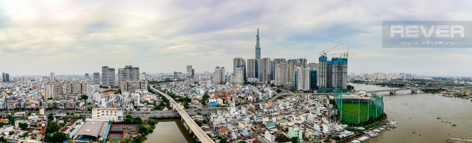 View Căn hộ Vinhomes Golden River tầng cao, tháp The Aqua 4, view sông Sài Gòn