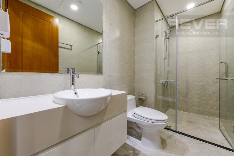 Phòng tắm Căn hộ Vinhomes Central Park 1 phòng ngủ tầng thấp L6 view hồ bơi