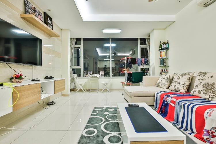 Phòng Khách Căn hộ Cantavil Premier tầng cao D2 thiết kế đẹp, sang trọng, đầy đủ tiện nghi