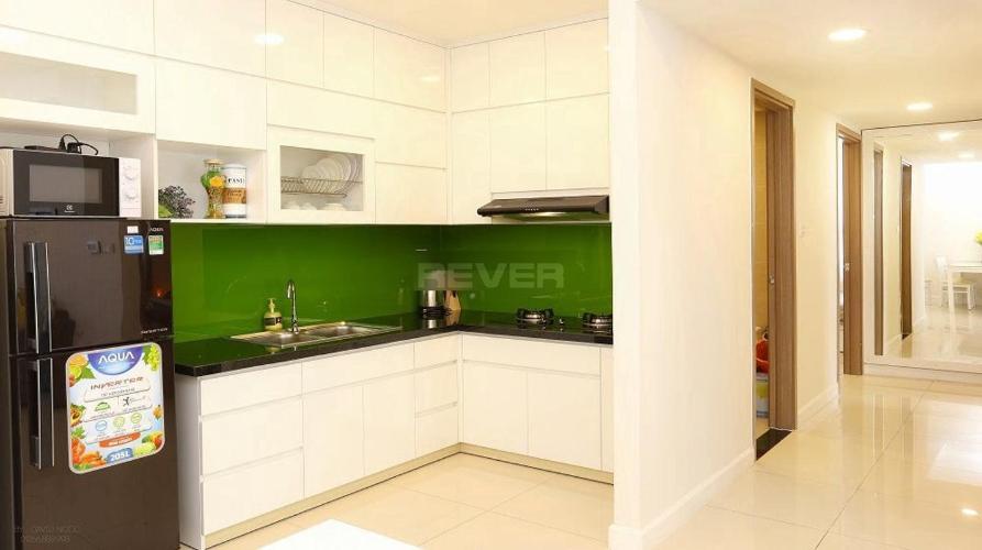 Phòng bếp căn hộ Icon 56 Căn hộ Icon 56 đầy đủ nội thất tiện nghi, view thoáng mát.