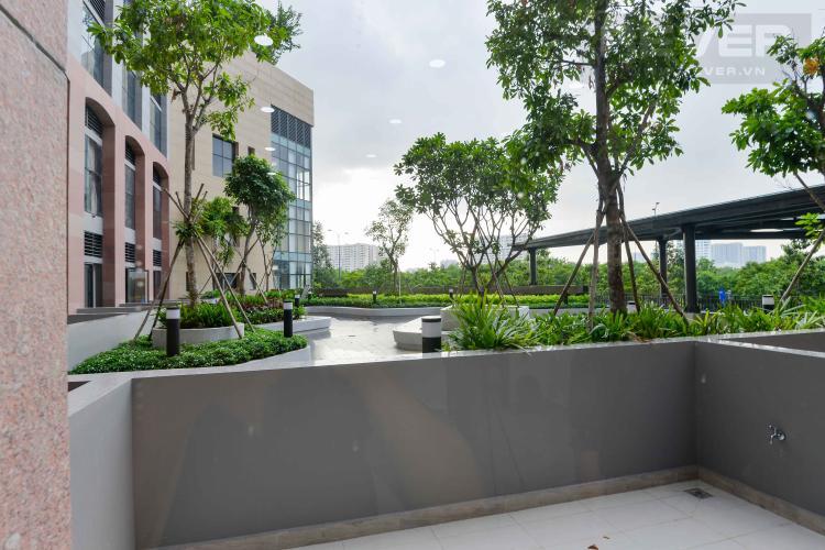 View Cho thuê căn hộ office-tel The Sun Avenue tầng trệt, block 3, đầy đủ nội thất.