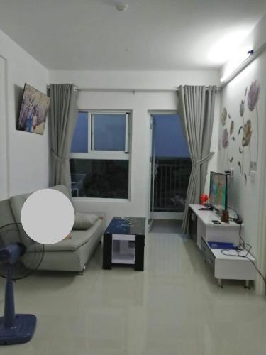 Phòng khách căn hộ chung cư Hà Đô Riverside, Quận 12 Căn hộ chung cư Hà Đô Riverside bàn giao nội thất cơ bản, view đón gió.