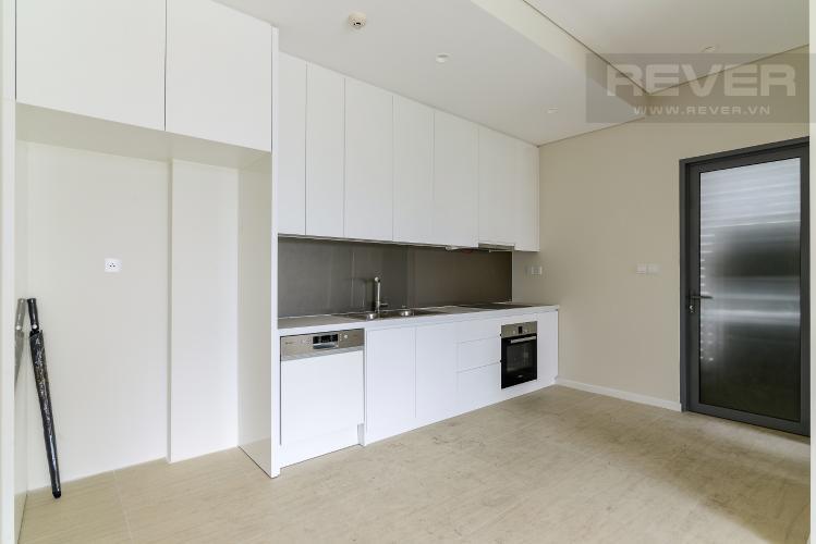 Bếp 1 Cho thuê căn hộ dual key Diamond Island - Đảo Kim Cương 3PN, tháp Bahamas, không có nội thất, view sông thoáng mát