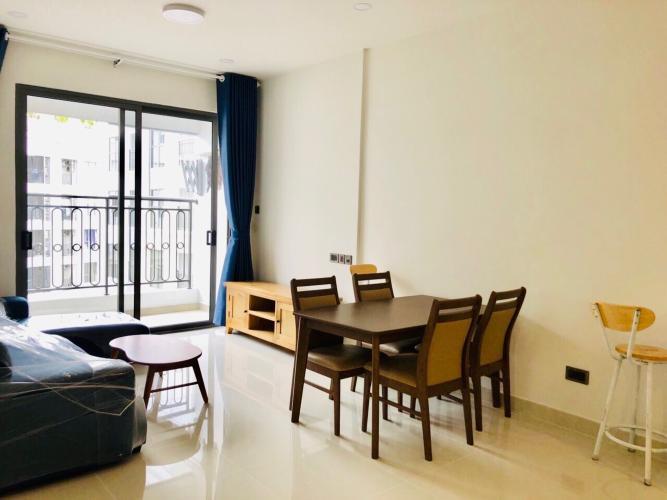 Phòng khách , căn hộ SaiGon Royal , quận 4 Căn hộ Saigon Royal tầng cao hướng cửa Đông view nội khu, đầy đủ nội thất.