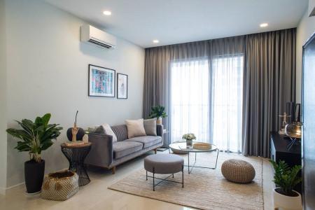 Cho thuê căn hộ Masteri Millennium 2PN tầng cao, hướng Đông Nam, nội thất đầy đủ