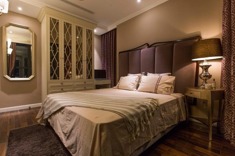 Phòng ngủ căn hộ Vinhomes Golden River Căn hộ Vinhomes Golden River tháp The Aqua 3, đầy đủ nội thất cao cấp